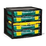 Tayg 1 Multibox con 4 estuches con separadores móviles 22-26, 335x250x275mm