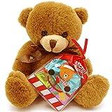 クリスマス お菓子 詰め合わせ ぬいぐるみ くま セット キャンディー ラッピング袋 付き 12x7cm 国産 ノベルティ ラッピング パーティ 誕生日 子供会 プレゼント ギフト