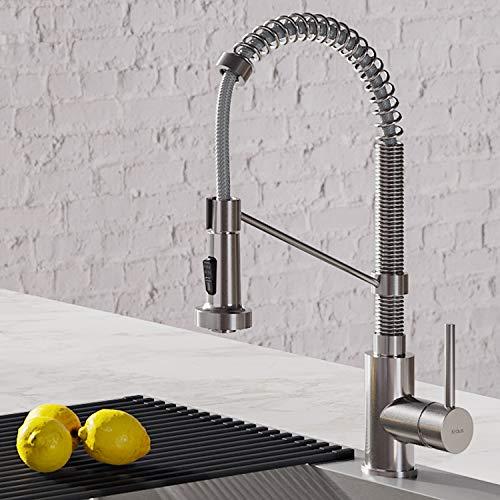 Kraus KPF-1610SS Bolden 18-Inch Commercial Kitchen Faucet...