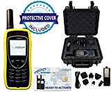 SatPhoneStore Iridium 9575 Extreme Satellite Phone Deluxe Package with Pelican Case, Protective Case & Blank Prepaid SIM Card Ready for Easy Online Activation