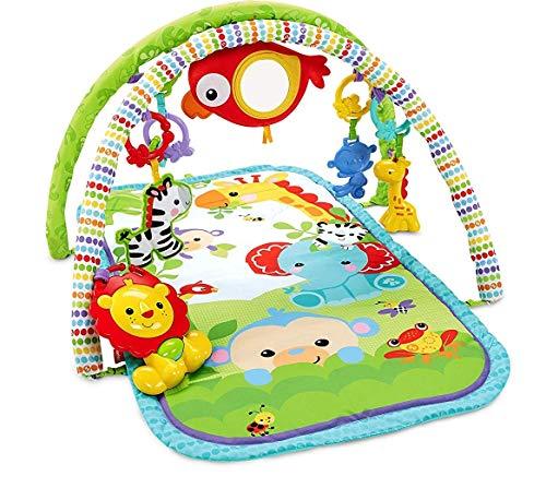 Fisher-Price CHP85 Palestrina della Foresta con 3 Livelli di Gioco, 5 + 1 giocattoli, Musica e...