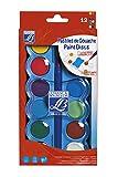Lefranc Bourgeois - Pastilles de gouache pour enfants - Boîte de 12...