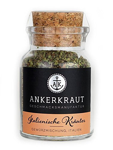 Ankerkraut Italienische Kräuter, 20g im Korkenglas, mediterales Universalgewürz