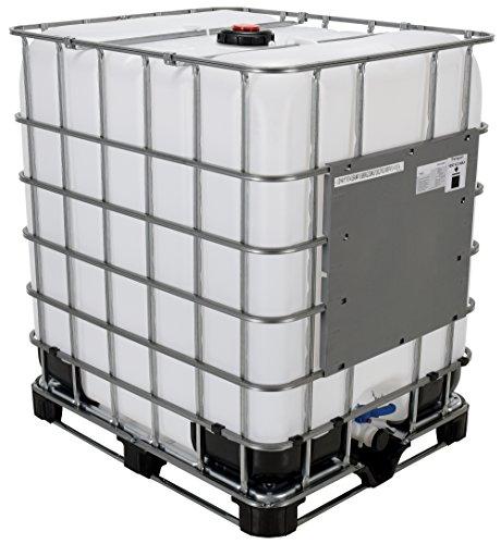 Vestil IBC-330 Steel Intermediate Bulk Crate, 330 Gallon Capacity, 47 Length x 53' Width x 39' Height