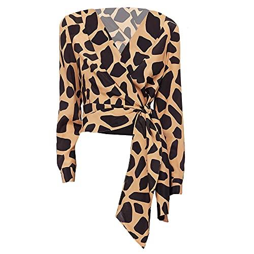 515XyhztiTL. SL500 66% Viscose, 34% Silk Wrap Style Large Animal Print