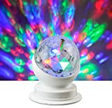 X4-LIFE Rotierende LED Partyleuchte RGB