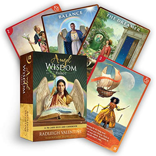 Angel Wisdom Tarot: A 78-Card Deck and Guidebook