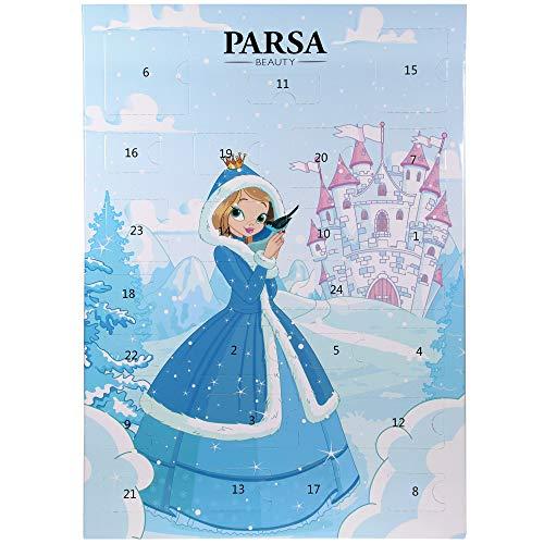 Pelo joyas/Cabello Accesorios de calendario de Adviento 2020 para niñas de PARSA Beauty