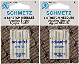 Stretch Machine Needles-Size 75/11 5/Pkg (2 packs)