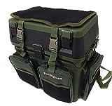 Fishingmad - Siège boîte de rangement pour matériel de pêche avec et sac à...