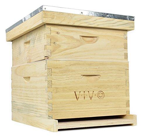 VIVO Complete Beekeeping Beehive Box Kit