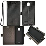 Case for Hot Pepper Poblano Vle5 Case TPU Flip Cover Stand Shell Black