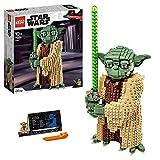 LEGO75255StarWarsYoda,SetdeconstrucciónparaNiños+10añosconEspadaLáser,ModeloColeccionable