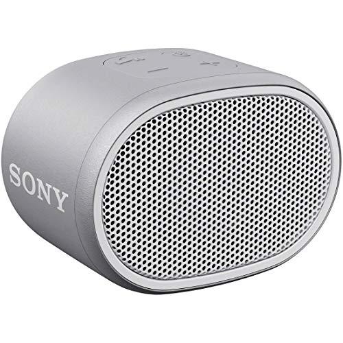 ソニー ワイヤレスポータブルスピーカー SRS-XB01 W : 防水 Bluetooth スマホな…