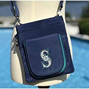 Measures 6.5 x 7.75 x 2.5-inches Features 4 Spacious Pockets for Ultimate Storage and Organization Decorated with Large Embroidered Logo and Bold Team Colors Fits all Phone and Passports Made with Durable Microfiber Material, Easy to Clean