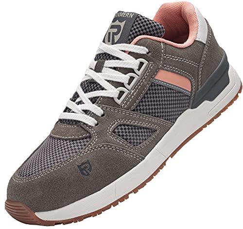 Zapatos de Seguridad Mujer,L9123 SB SRC Zapatillas de...