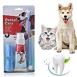 Dentifrice pour chien,Soins dentaires pour chiens, Trousse de...