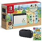 Nintendo Switch Bundle w/Game & Case: Nintendo Switch Animal Crossing New Horizons Edition 32GB Console, Animal Crossing New Horizons Game, Tigology Accessories