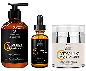 GIVE THE GIFT OF BEAUTIFUL HEALTHY SKIN: This glow-boosting kit works throughout the day and night to deliver visibly youthful, luminous, even-toned skin. Recommend use twice a day, morning and night. Kit includes: Vitamin C Cleanser 4.0 fl. oz., Vit...