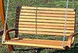 ASS Design Hollywoodschaukel Gartenschaukel Hollywood Schaukel aus Holz - 3