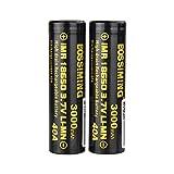 Batterie 18650 Décharge De La Batterie Au Lithium 3000Mah40A De Puissance De...