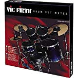 Vic Firth PVF MUTESTD Sourdine pour batterie Pack Standard 22' + 2 cymbales
