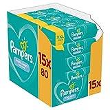 Lingettes Bébé - Pampers Fresh Clean - Lot de 15 Paquets de 80 (1200...