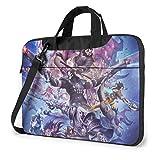 Juego Storm Hero World Warcraft Laptop Tote Bag Tablet Maletín Ultra Portátil Un Hombro A Prueba de Golpes Portátil Bolsas