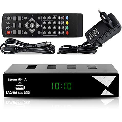 Decoder Digitale Terrestre DVB T2 / HD / HDMI / Ricevitore TV / PVR / H.265 HEVC / USB / DVB-T2 / 4K...