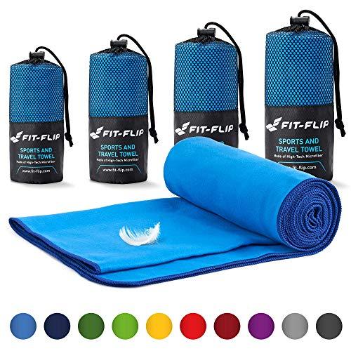 Serviette microfibre – disponibles dans toutes les tailles / 18 couleurs...