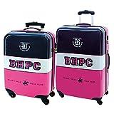 Beverly Hills Polo Club 5289551 Juego de Maletas, 35 litros, Multicolor
