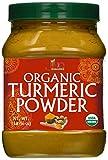 Organic Turmeric Root Powder 16oz - Lab Tested for Heavy Metals - 100% Raw w/ Curcumin Non-GMO - by Jiva Organics
