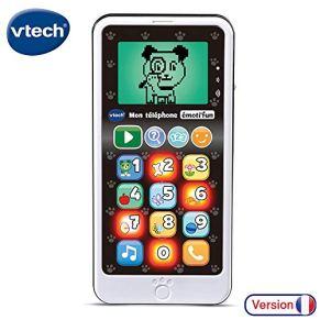 VTech- EMOTI'FUN - Teléfono electrónico educacional, 80-603785, Multicolor