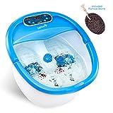 Ivation Foot Spa Massager - Heated Bath, Automatic Massage Rollers, Vibration, Bubbles, Digital Adjustable...