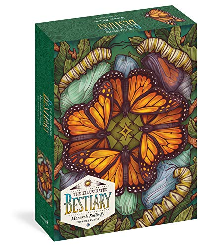 Illustrated Bestiary: Monarch Butterfly (750 pieces) (Wild...