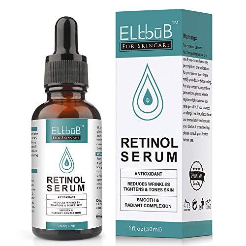 Retinol Serum – 2,5% retinol contenido Sistema con Vitamin C & Vegan...