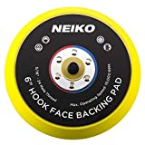 Neiko 30263A Sanding Pads 6-Inch Hook and Loop Face for Random Orbital Sanders, 1 Piece