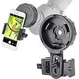 Gosky, cannocchiale binoculare adattatore per smartphone, per un allineamento rapido, adattatore di smartphone per digiscoping, cattura la bellezza da condividere con gli amici
