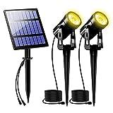 2W Solar Spotlights...image