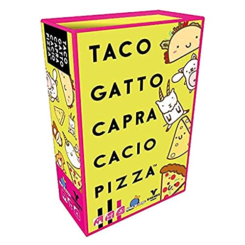 Taco Gatto Capra Cacio Pizza