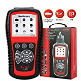 Autel Scanner For EPB&OLS Reset With All System Diagnosis&10 Obd Test Modes For Volkswagen Vw Audi Seat Skoda(Autel Maxiservice MST505)