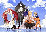 FHGFB DIY「Anime Naruto」Pintura por números para Adultos Pintura al óleo Lienzo Pared Hogar Sala de Estar Dormitorio Decoración de Oficina Regalo Sin Marco 40x50cm