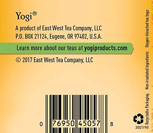 Yogi Tea, Green Tea Blueberry Slim Life, 16 Count 4