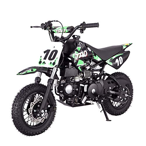 X-PRO 110cc Dirt Bike Pit Bike Youth Dirt Pit Bike 110 Dirt Pitbike,Green