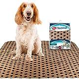 Simple Solution Tappetini Addestramento e Viaggio per Cani Lavabili Grandi - 2Pk
