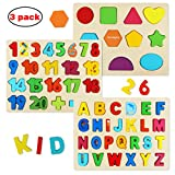 Wooden Puzzles for Toddlers,...
