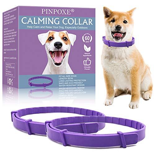 Collar calmante para perros, Collar de calmante Ajustable para perros,...