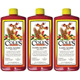 Cole's FS16 Flaming Squirrel Seed Sauce, 16-Ounce (3)