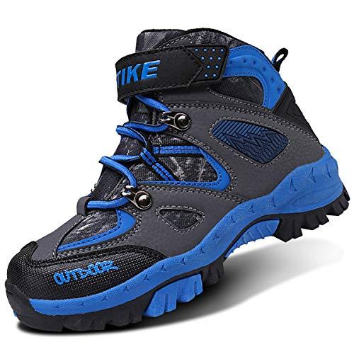 VITIKE Kinder Schneestiefel Jungen Warmfutter Jungen Schneestiefel Wanderschuhe Sportlich bequem Schuhe Outdoor Wandern Trekking Jungen Stiefel Mädchen Stiefel