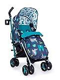 Cosatto Supa 3 Pushchair – Lightweight Stroller from Birth to 25kg - Compact Fold, Shopping Basket, Footmuff (Dragon Kingdom)
